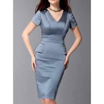 Moda Satin Dress